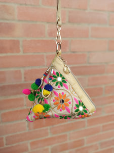 Cartera Potly Triangular árabe (#126)  PPM25 - BOUTIQUE DE LA INDIA