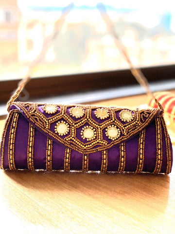 Cartera Potly Tubular árabe (#105) PPM33 - BOUTIQUE DE LA INDIA