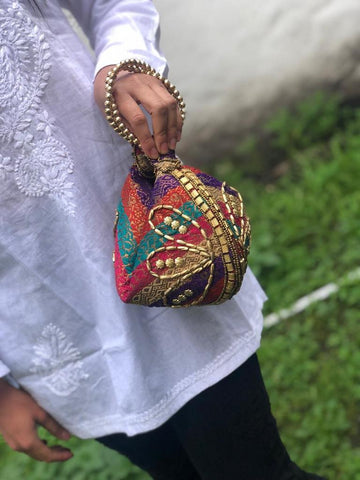 Cartera Potly Aros árabe (#151) PPM15 - BOUTIQUE DE LA INDIA