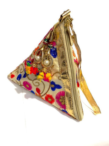 Cartera Potly Triangular de Turquía (#138) PPM25 - BOUTIQUE DE LA INDIA
