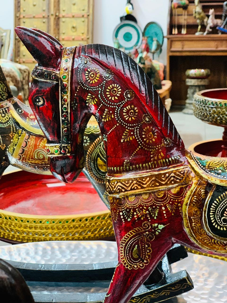 Caballo hindú #189  PPM - BOUTIQUE DE LA INDIA