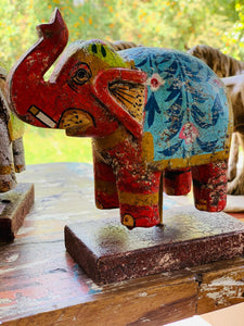 Estatuilla de Elefante Oriental #306 PPM - BOUTIQUE DE LA INDIA