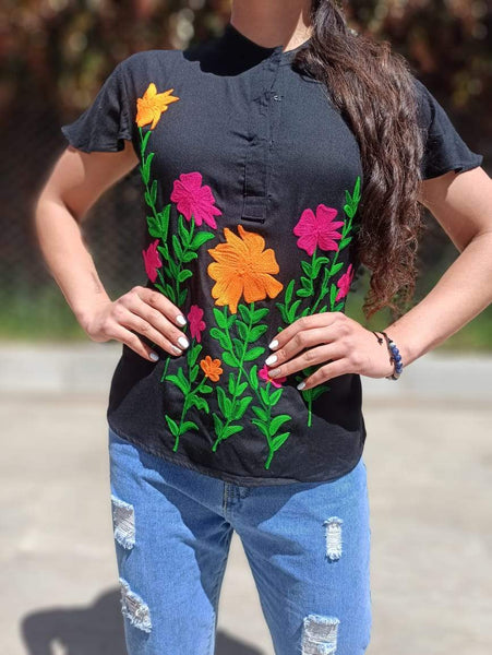 Blusa Lyrim oriental PPM45 - BOUTIQUE DE LA INDIA