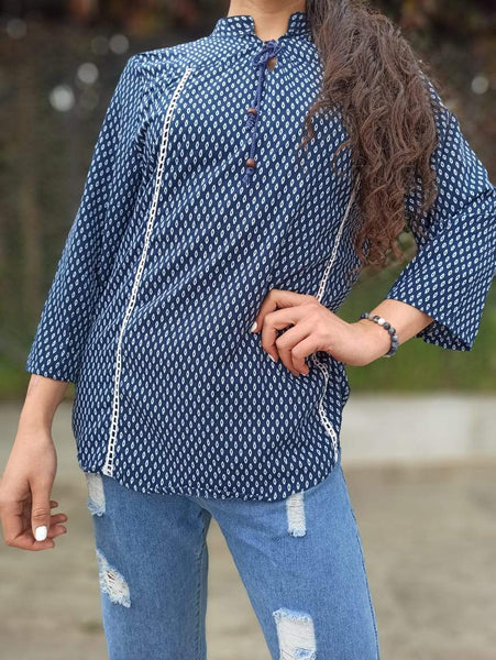 Blusa Sundary #8 Arabe PPM29 - BOUTIQUE DE LA INDIA