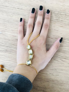 Anillo con Pulsera árabe PPM19 - BOUTIQUE DE LA INDIA