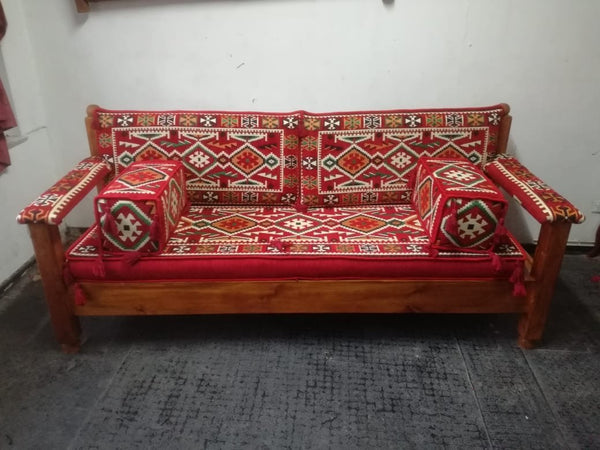 Sofá Kilim Oriental Con Base PPM1900 - BOUTIQUE DE LA INDIA