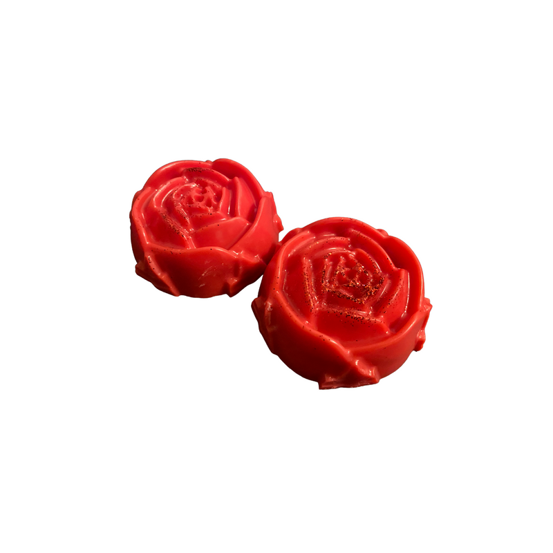 Strawberry Champagne Large Rose Wax Melts