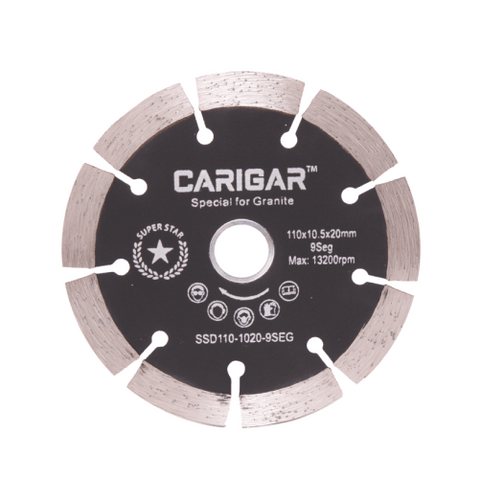 DIAMOND SAW BLADES  SSD110-1020-9SEG