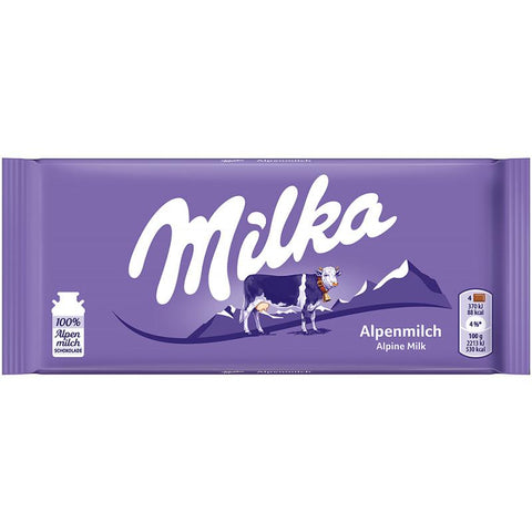 Tablette Chocolat Alpine Milk 100g