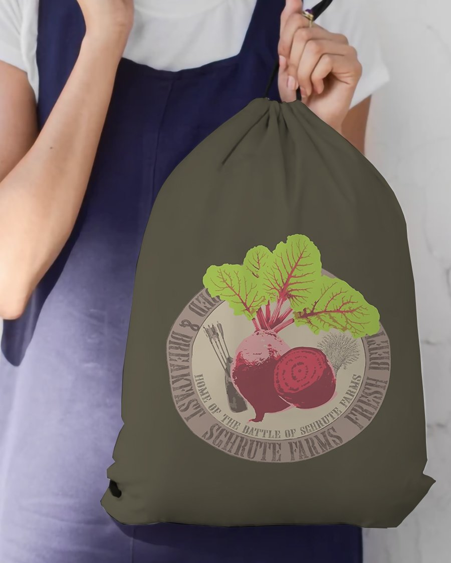 FOAL14 The Office Drawstring Bag, The Farms Battle , Unisex, Multi-functional