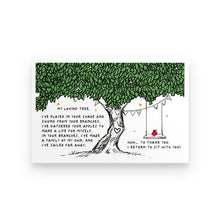 Load image into Gallery viewer, My Loving Tree Poster