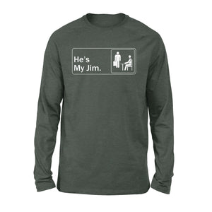 FOAL14 The Office Premium Sleeve, My Jim, Adult Unisex, Size S-2XL
