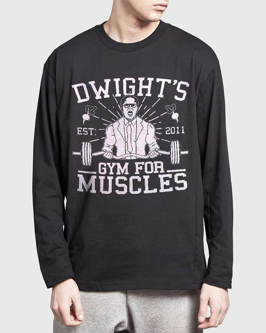 FOAL14 The Office Standard Sleeve, Dwight's Gym, Adult Unisex, Size S-5XL