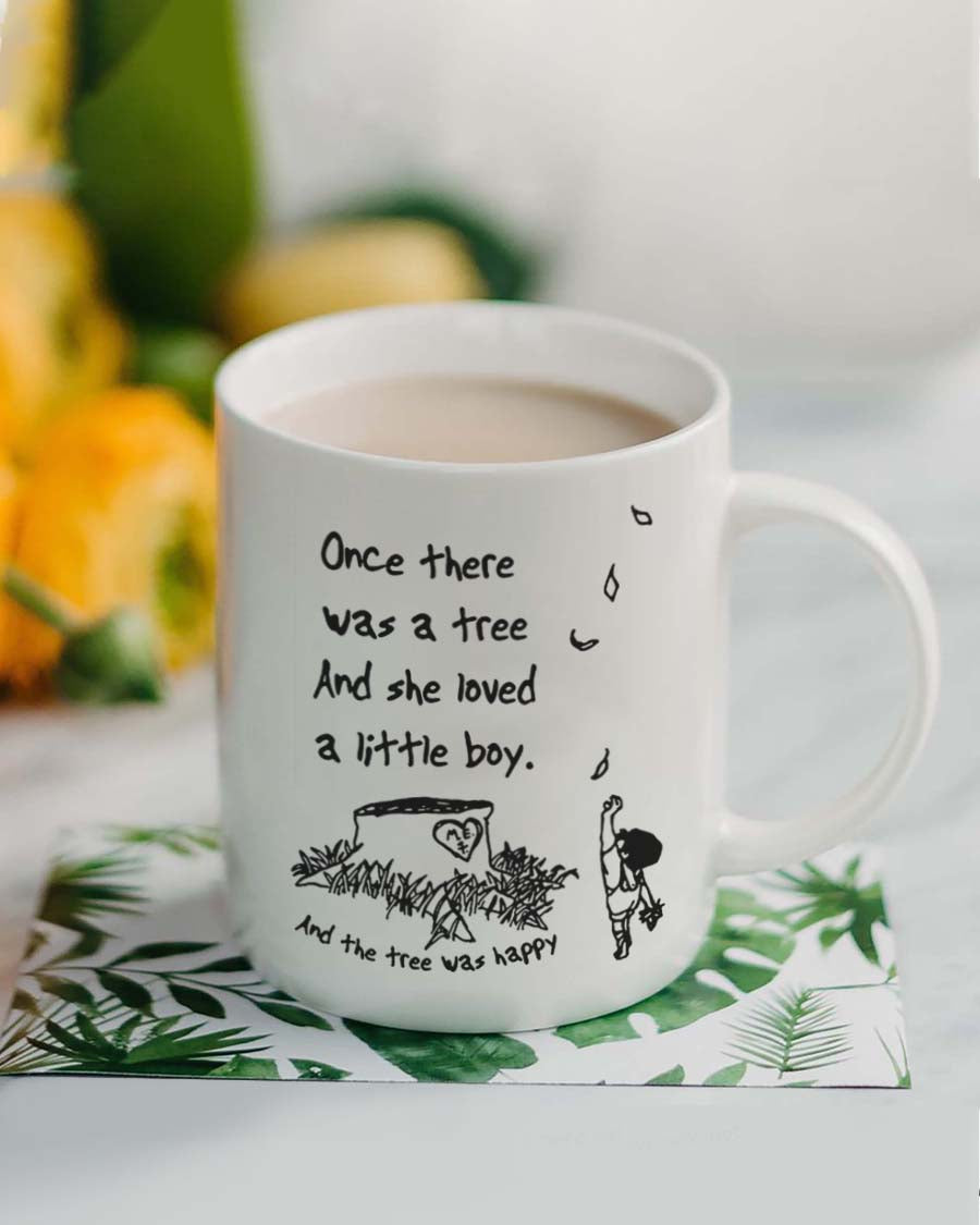 Happy Green Tree Mug