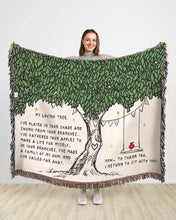 Load image into Gallery viewer, My Loving Tree Cotton Blanket
