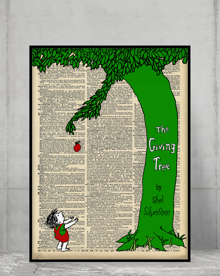 Happy Green Tree Poster