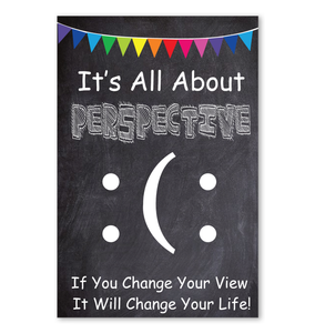 It's All About Perspective Poster