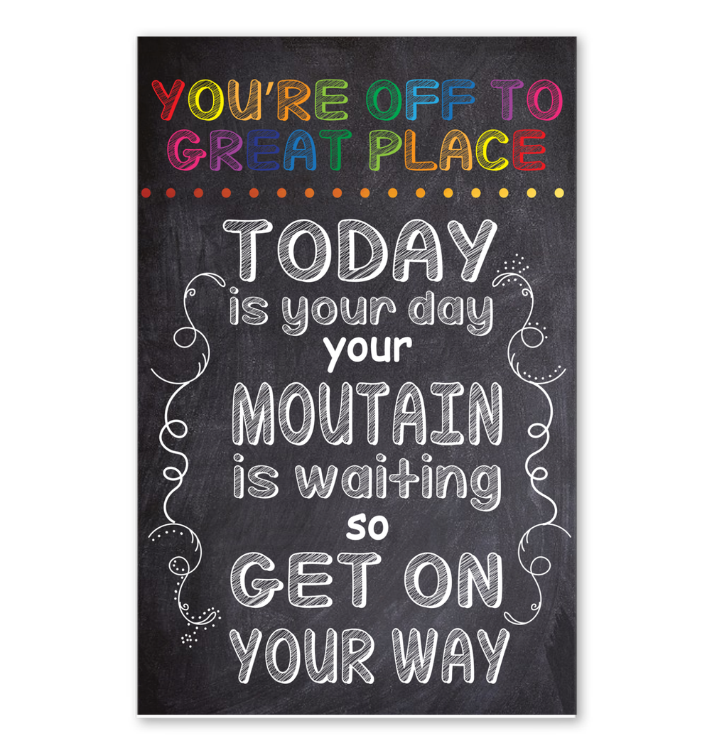 You Are Off To Great Place Poster