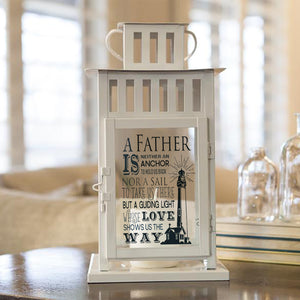 Foal14 Lantern, Home Decor, Father - A Guiding Light, Candle Lanterns