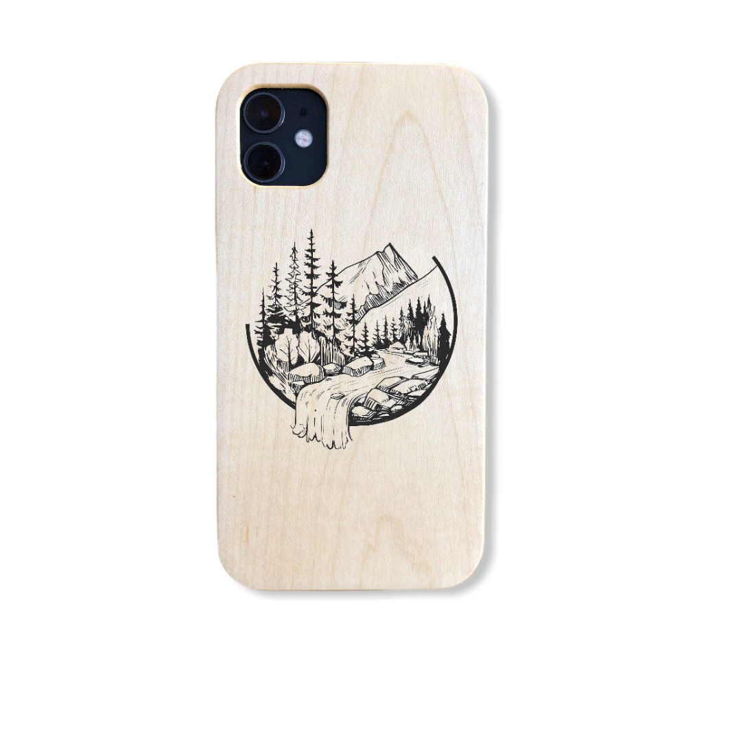Custom Wood Phone Cases: Upload your own Image or choose a pre-designed Image