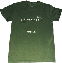Load image into Gallery viewer, ALPHATYPE WORLD TEE [HEMP]