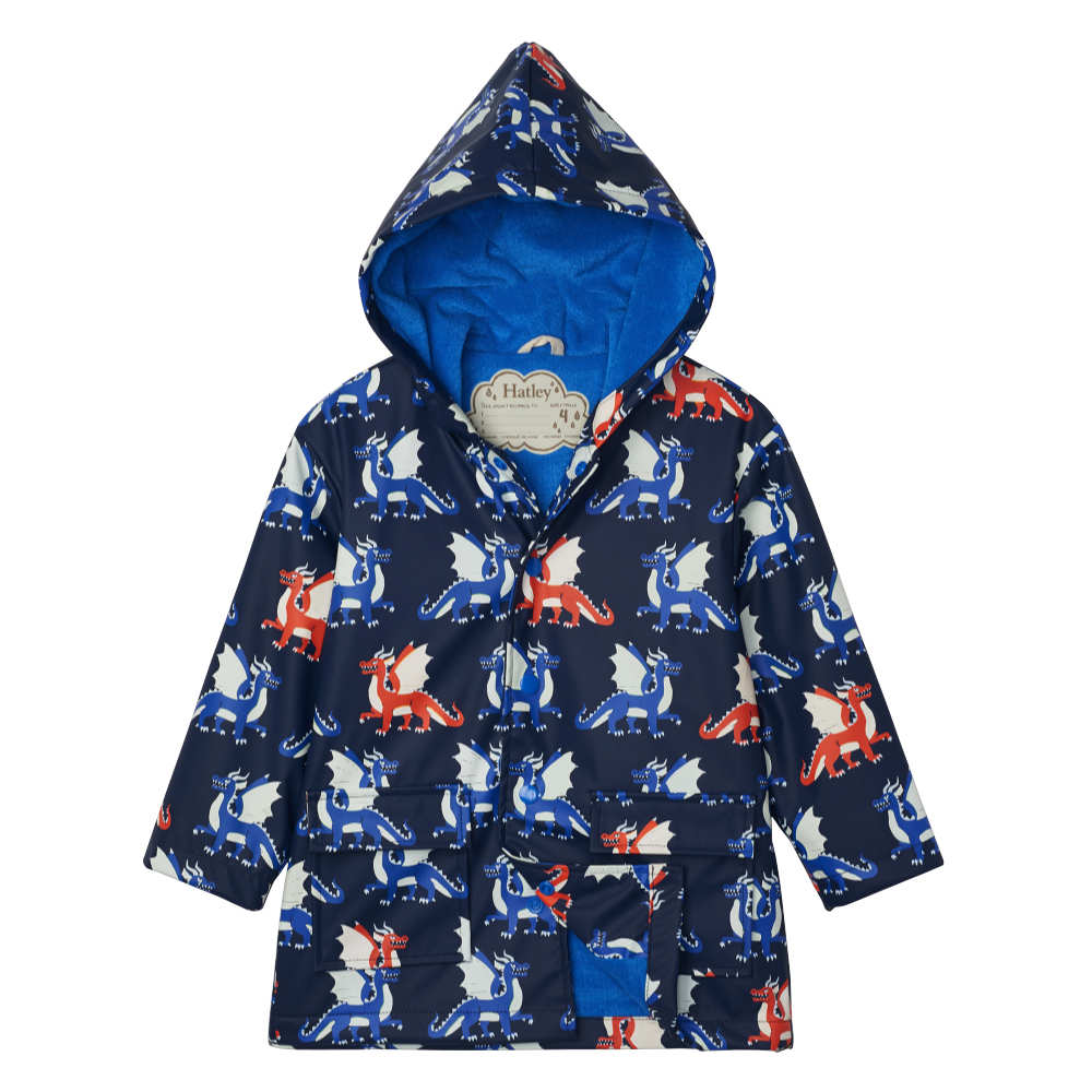 Hatley Dragon Print Raincoat - F20DRK1336