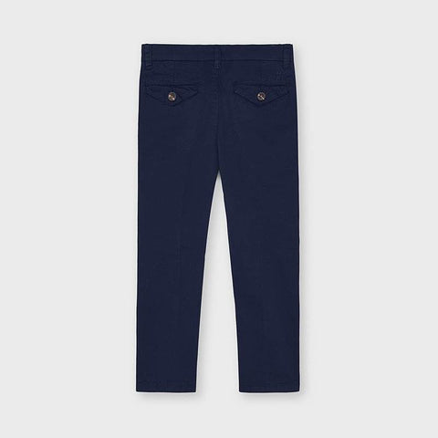 Mayoral Boy's Twill Trousers - Navy