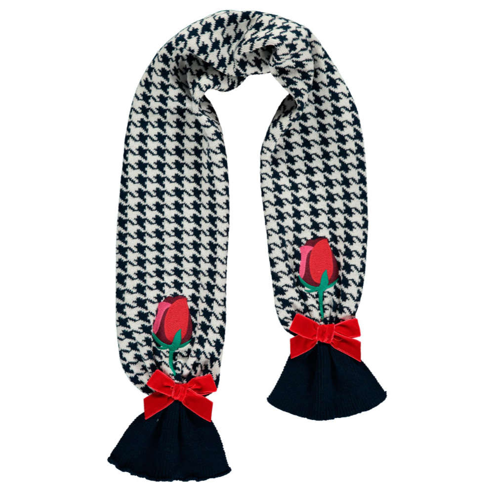 A Dee Ainsley Houndstooth Scarf