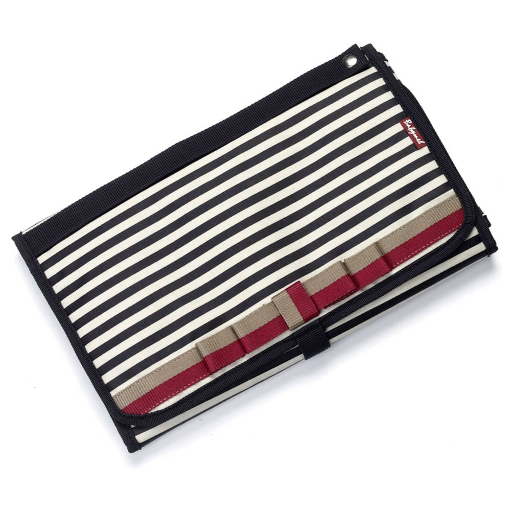 Babymel Change Station - Navy Stripes