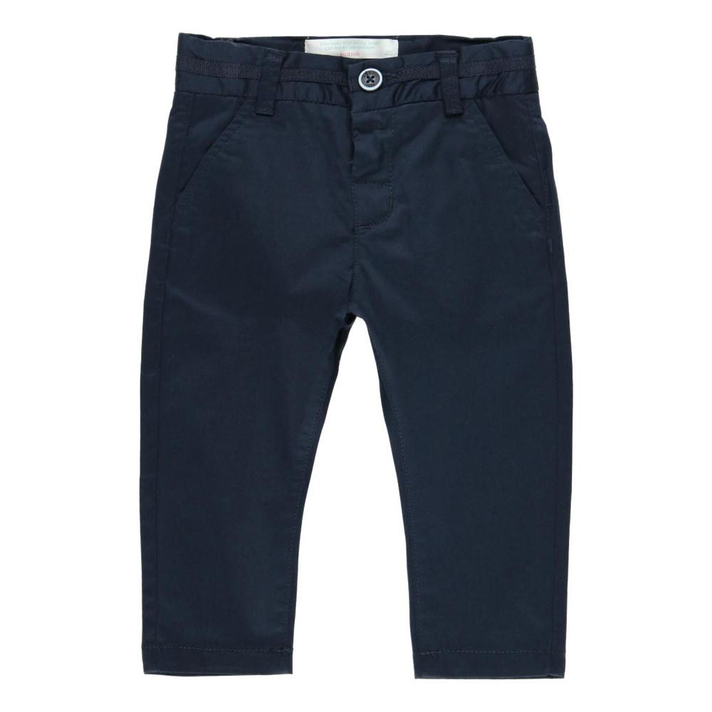 Boboli Boys Stretch Fit Trousers in Navy
