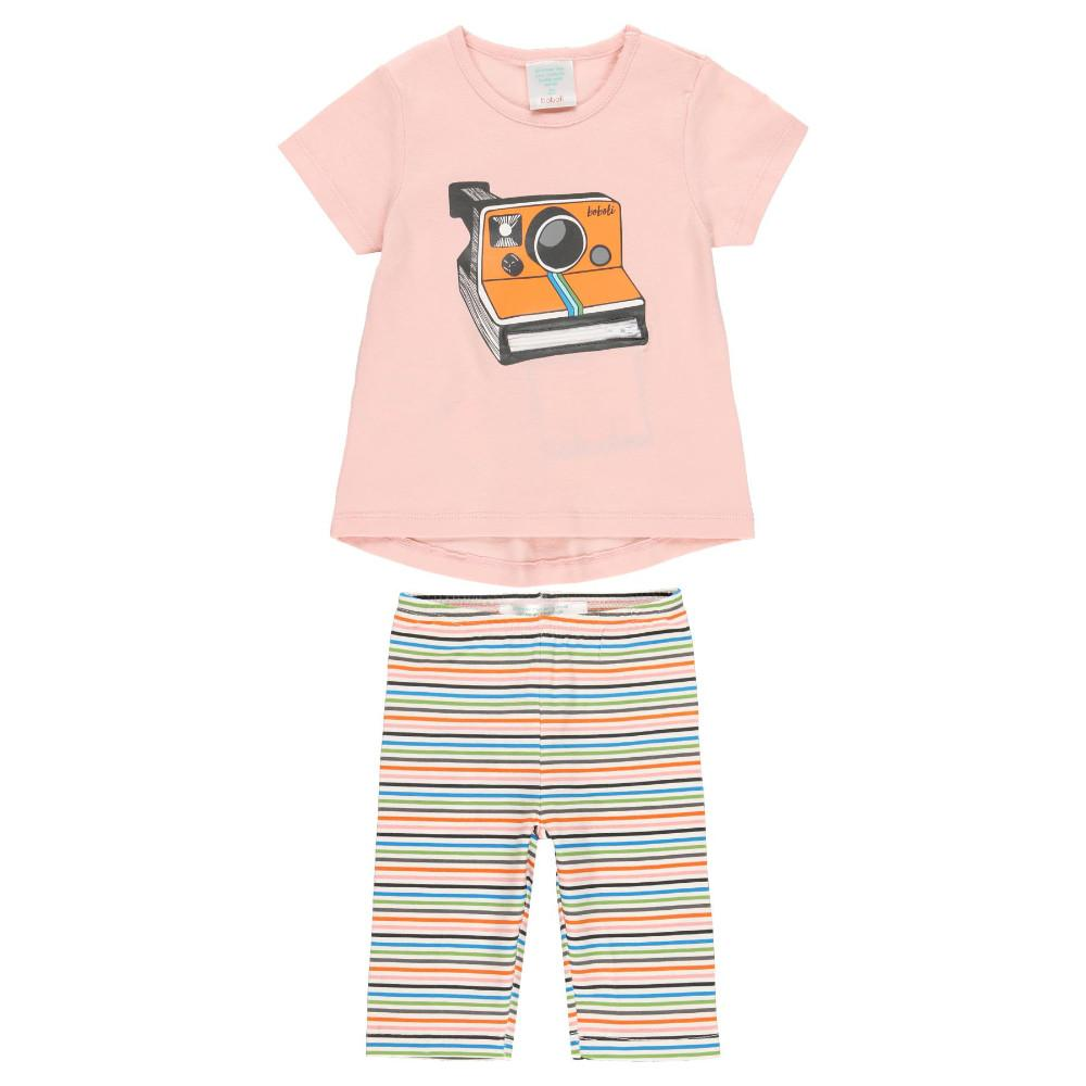 Boboli Girls T Shirt and Leggings Set