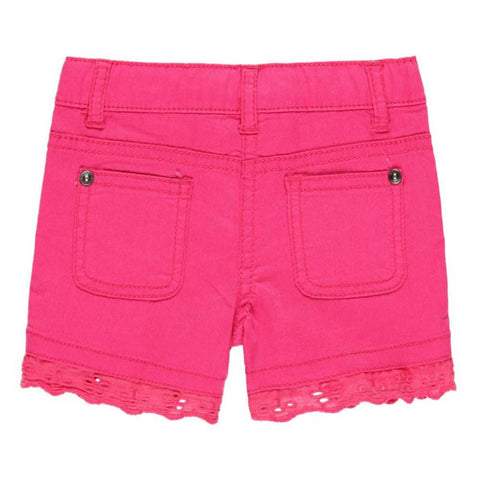 Boboli Girls Stretch Fit Shorts in Pink