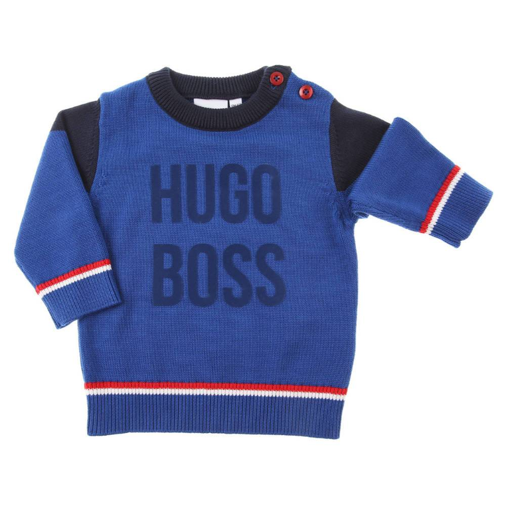 Boss Boy's Logo Knit Jumper