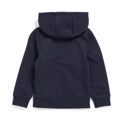 Boss Boy's Zip Up Hoodie - Navy