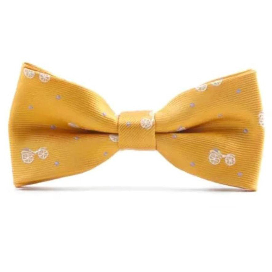 Gold Bike Dickie Bow