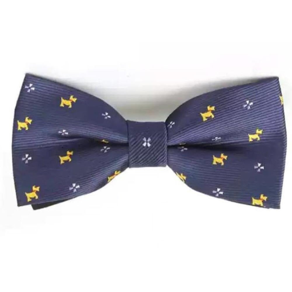 Navy Doggy Dickie Bow