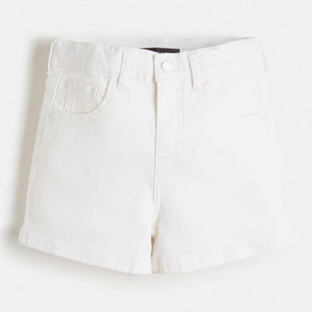 Guess Denim Shorts White - j1rd05