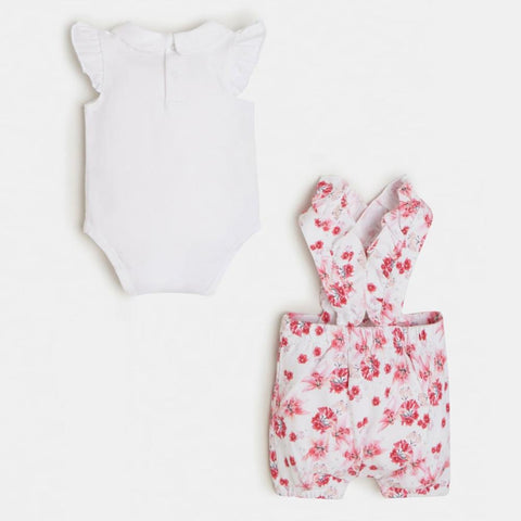 Guess Baby Girl's Shortalls Set - s1rg13