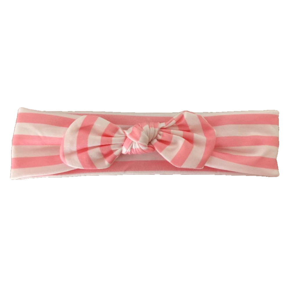 Headband Pink Stripe