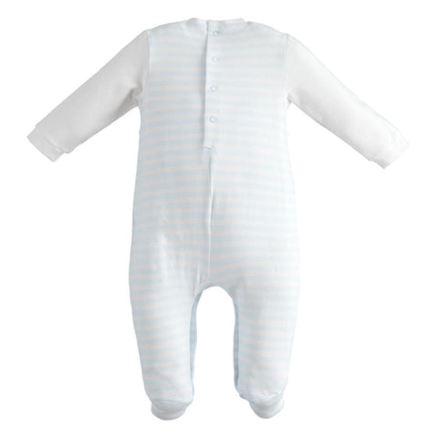 iDo Boy's Babygrow in Sky Blue