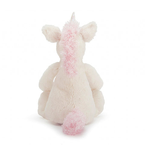 Jellycat Bashful Unicorn - White