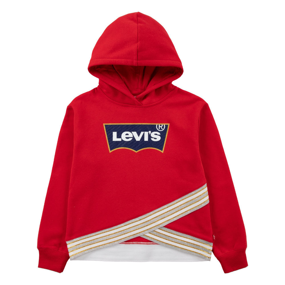 Levi's Girls Red Crossover Hoodie - 373830032