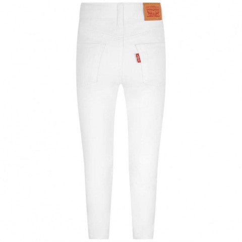 LEVI'S WHITE HIGH RISE SUPER SKINNY 720 JEANS GIRLS