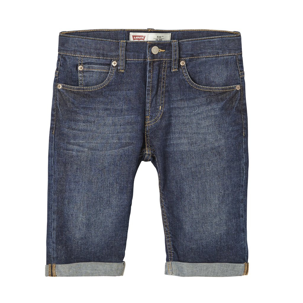 Levi's Shorts - Slim Fit Indigo 511