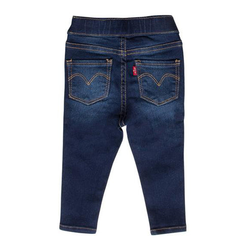 Levi's Baby Girls Dark Denim Jeggings