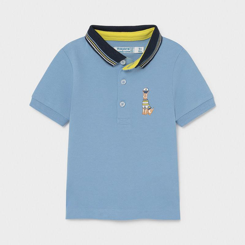 Mayoral Baby Boys Polo Shirt Lavender