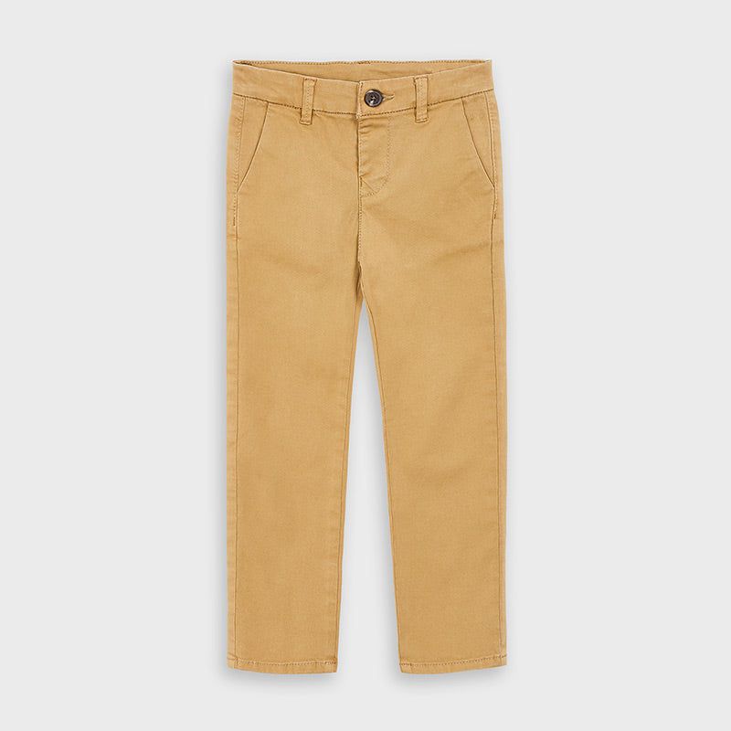 Mayoral Boys Chinos in Mocca - 00513