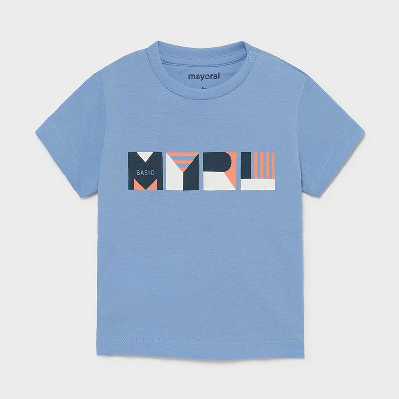 Mayoral Baby Boys Ecofriends T Shirt Lavender