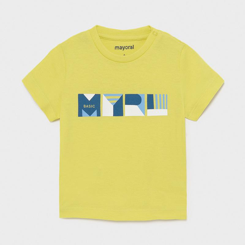 Mayoral Baby Boys Ecofriends T Shirt Lime