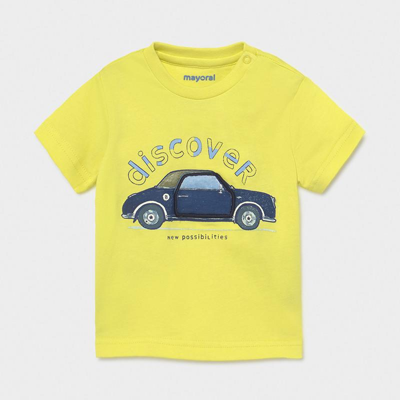 Mayoral Baby Boys Interactive T Shirt Lime